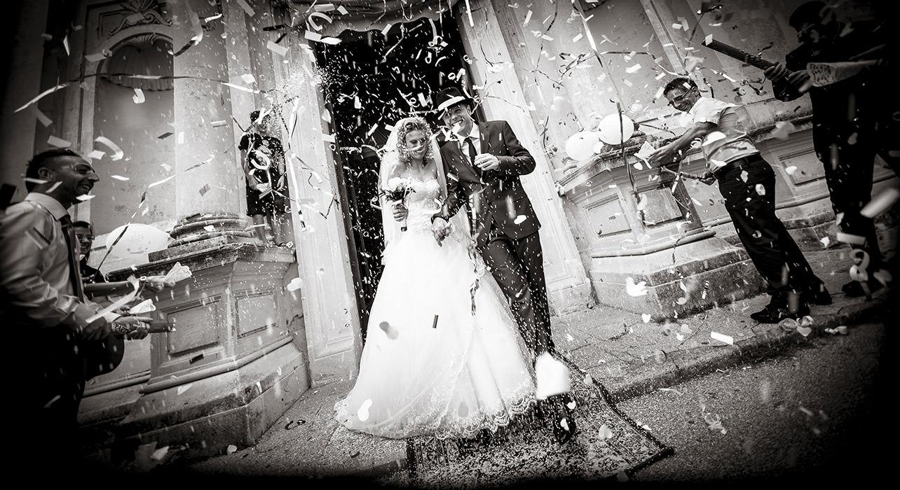Matrimonio In Nero : La magia del bianco e nero